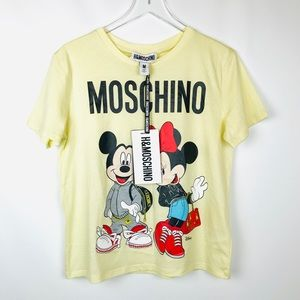 Moschino x Disney Mickey and mini t shirt